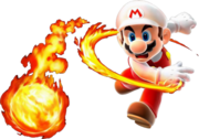 Super mario Flame Boy PSD