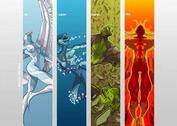Four Elements by Cris