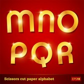 Glittering Letters Of The Alphabet 02