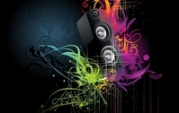 Free Vector Musical Theme of the Trend of Illustration 4