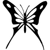 BLACK BUTTERFLY FREE VECTOR.eps