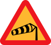 Windsock Pointing Left Sign