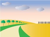 Scenery Vector Art