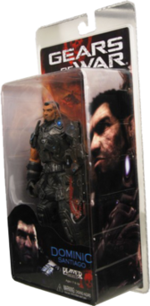 Gears Of War Dom Action figure PSD