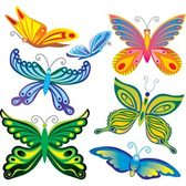Pack of 6 Butterfly, Free
