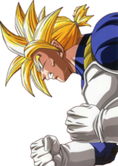 Super Sayian Trunks PSD