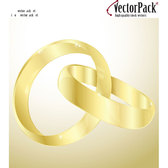 GOLD RINGS FREE VECTOR IMAGE.eps