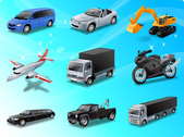 Land Transport free vector icons