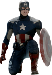 Captain America-The Avengers PSD