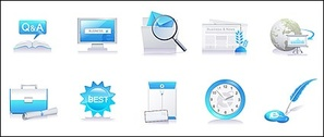 Today Series icon vector material-5