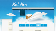 Mail Mate - A Free Website PSD Design