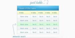 Clean Simple Comparison Table PSD
