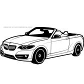 BMW VEHICLE VECTOR DRAWING.eps