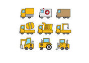 Vehicles Vectors