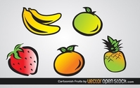 Cartoonish Fruits