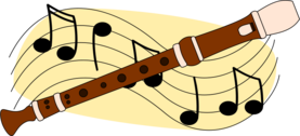 Recorder and music