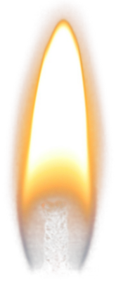 Candle Flame PSD
