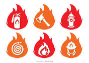 Flame Icons Fireman Vector Pack