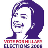 HILLARY CLINTON ELECTION CANDIDATE VECTOR.eps