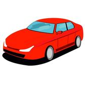 RED CAR VECTOR GRAPHICS.eps