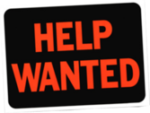 Help Wanted Sign PSD