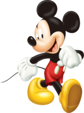 Stylish Mickey PSD