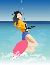 Surfing sport vector 7