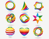 Stock Ilustrations Colorful-Icons