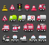 Transport Vector Cute 4