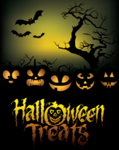 Free Halloween Treats Poster