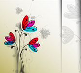 Free vector about cartoon handpainted