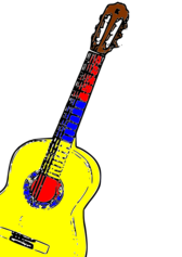 Guitarra Colombia