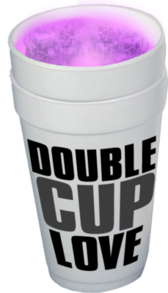 Double Cup Love PSD