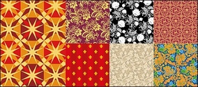 Vector background patterns useful material