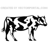 COW VECTOR GRAPHICS.eps
