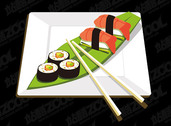 A Sushi Material