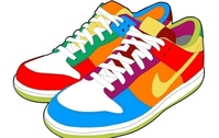 Colorful Sport Shoes
