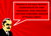 Georgi Dimitrov's definition of fascism