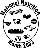 National Nutriion Month