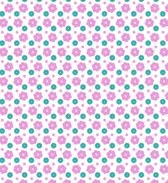 A Great Simple Seamless Flower Pattern Set