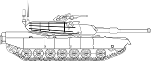 M Abrams Main Battle Tank