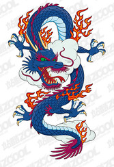 The mighty Chinese dragon