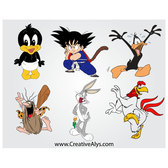 CARTOON MASCOTS VECTOR GRAPHICS.eps