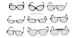 Vector Number Of Glasses Material
