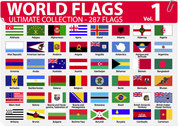 World National or regional flags