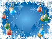 Christmas Background PSD