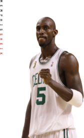 Kevin Garnett Boston Celtics PSD