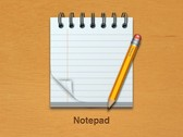 Sweet Coiled 3D Notepad Icon with Pencil