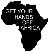 GET YOUR HANDS OFF AFRICA