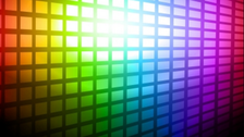 Rainbow Blocks Background PSD